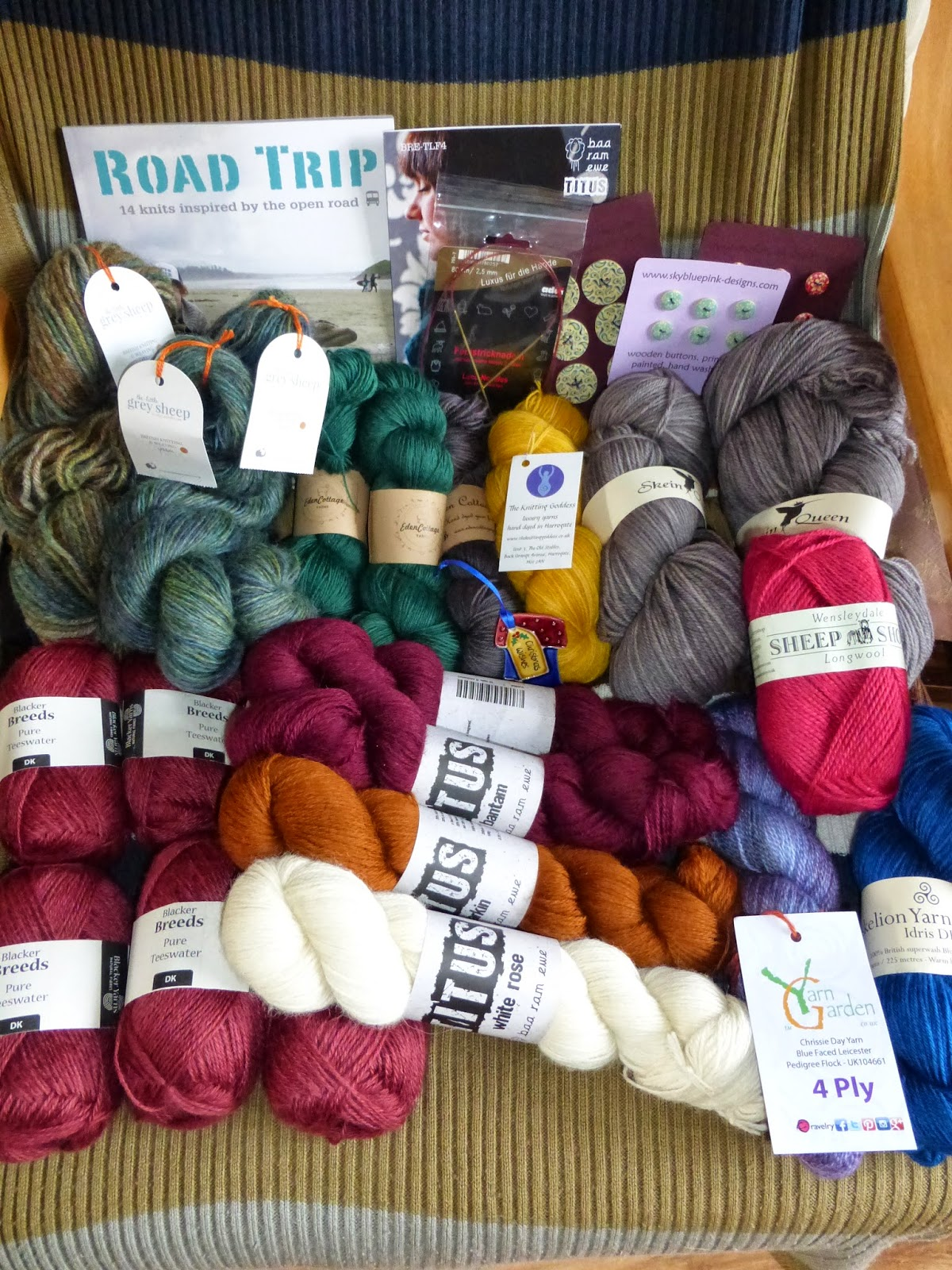Isla of Axholme Yarndale 2014 purchases