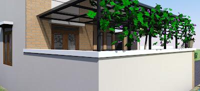Desain Rumah Minimalis 2 lantai 6