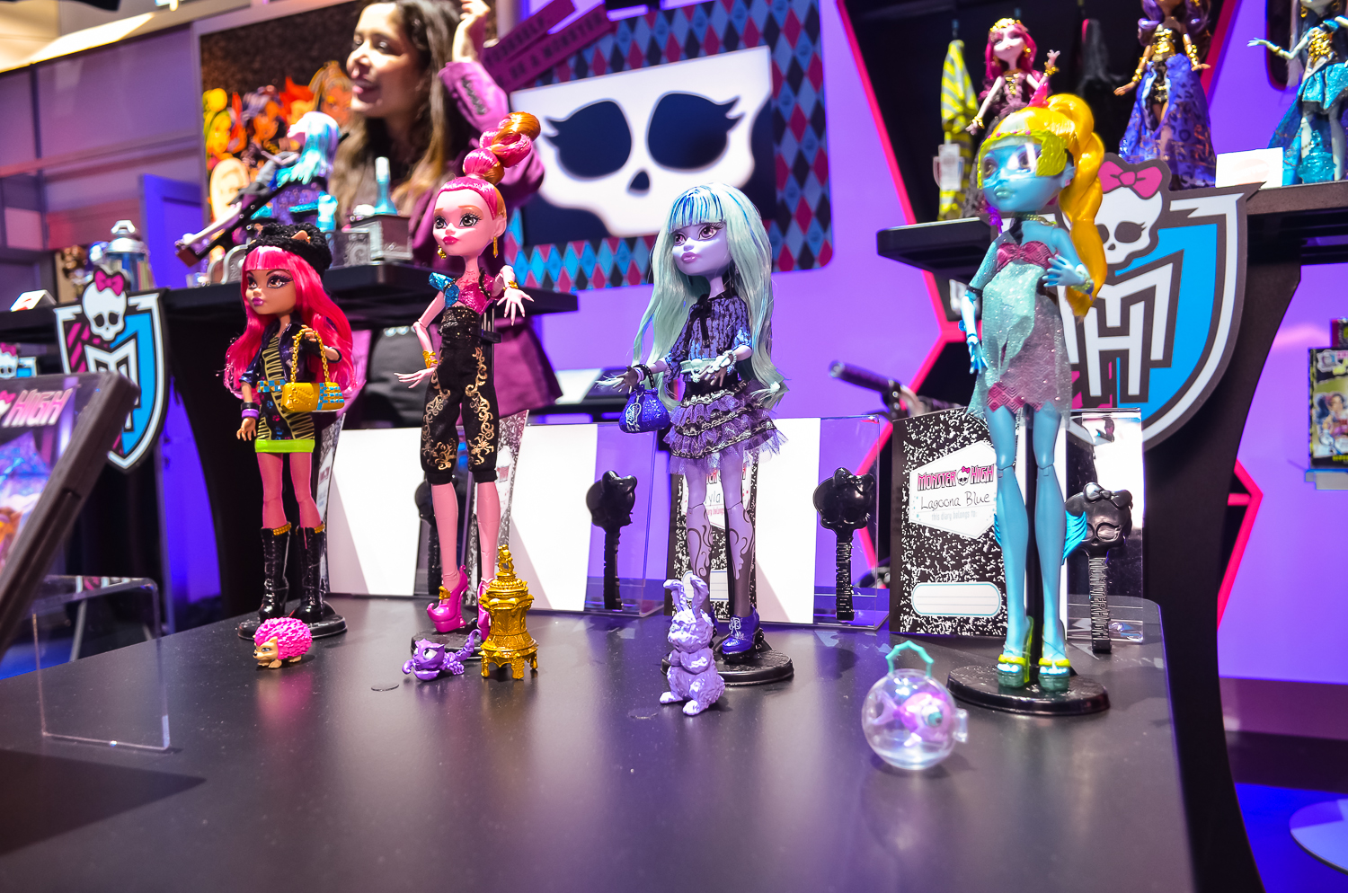Monster High Toys : Monster high at toy fair freaky fabulous