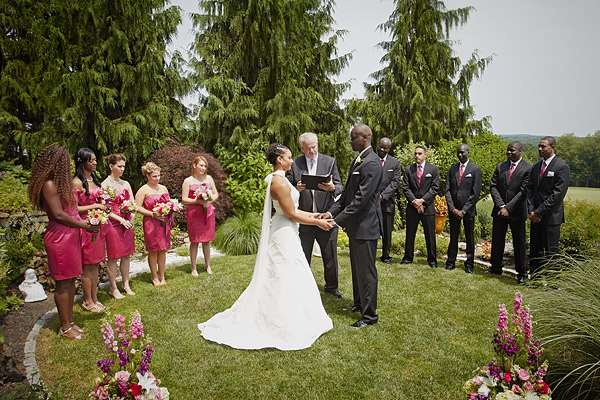 kirkbrae country club wedding ceremony