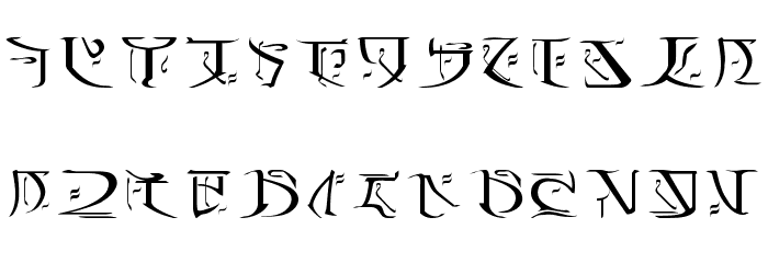 The Falmer Font Is Used For Ancient Writing Of Snow Elves Which Itself Related To Other Aldmeri Derived Languages