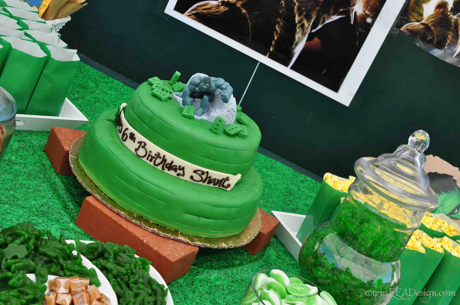 Hulk Birthday Party