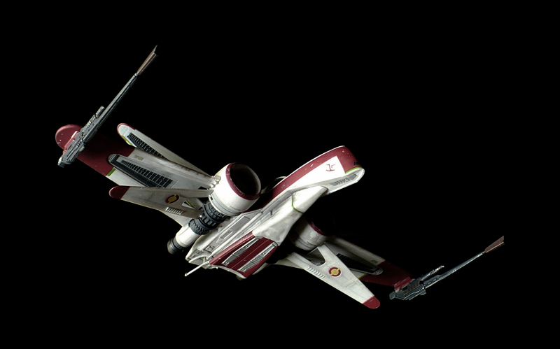 the great canadian model builders web page arc 170 starfighter. Black Bedroom Furniture Sets. Home Design Ideas
