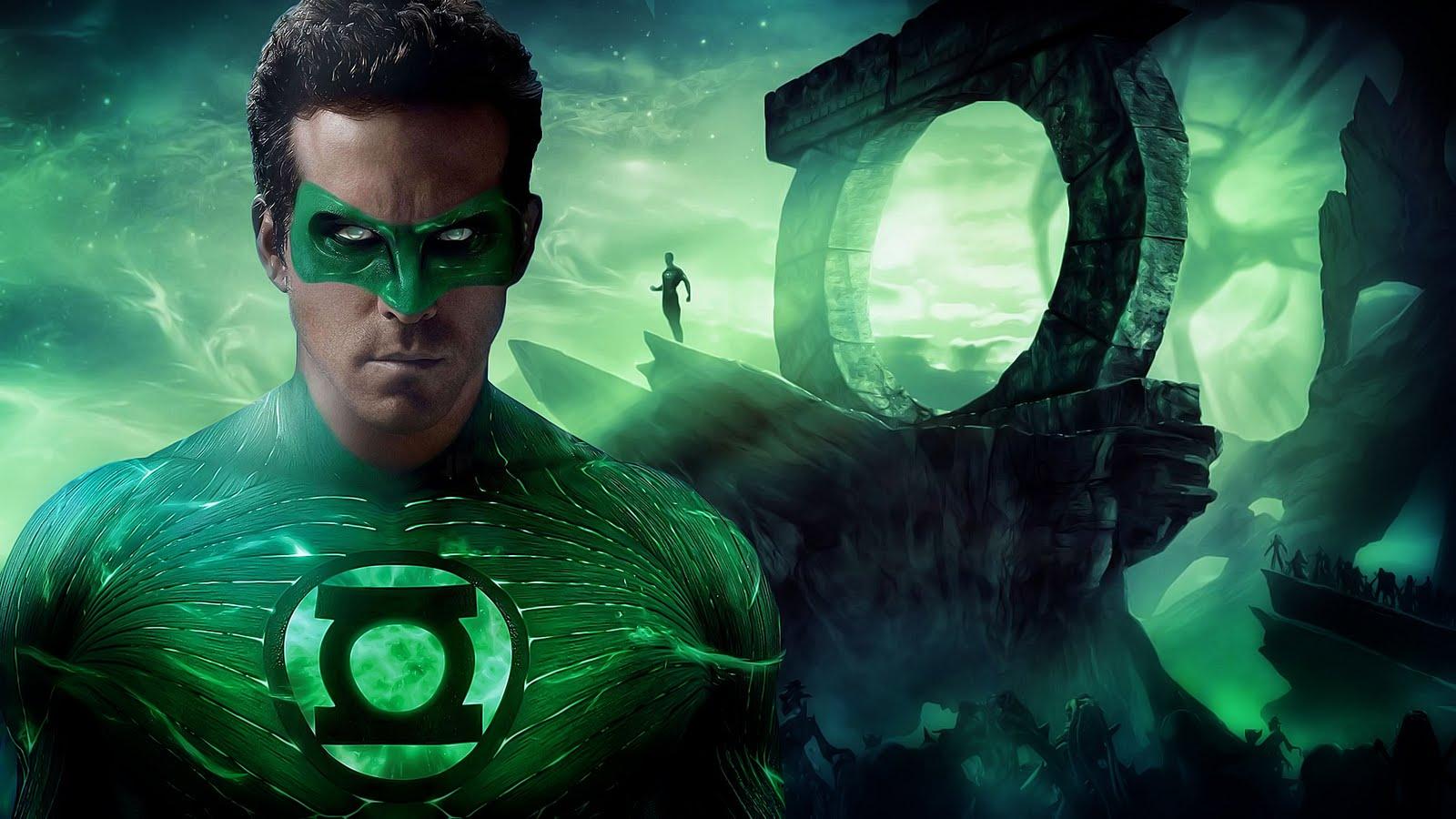 Green Lantern, Marvel, Ryan Reynolds, Super Hero Movie Wallpaper