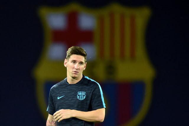 Com a ausência de Neymar, a responsabilidade de Messi contra o Sevilla aumentou (Foto: Kirill Kudryavtsev/AFP)