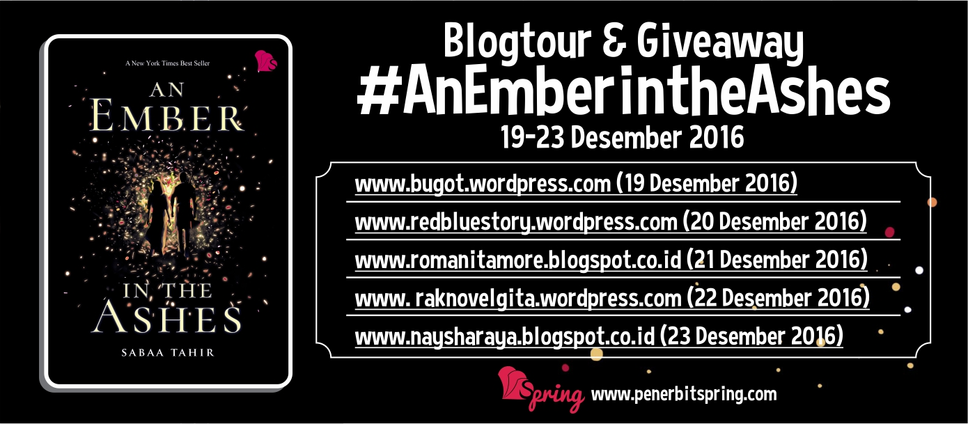 Blogtour & Giveaway An Ember In The Ashes
