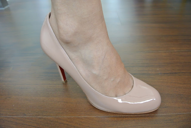 christian louboutin 70mm simple pump
