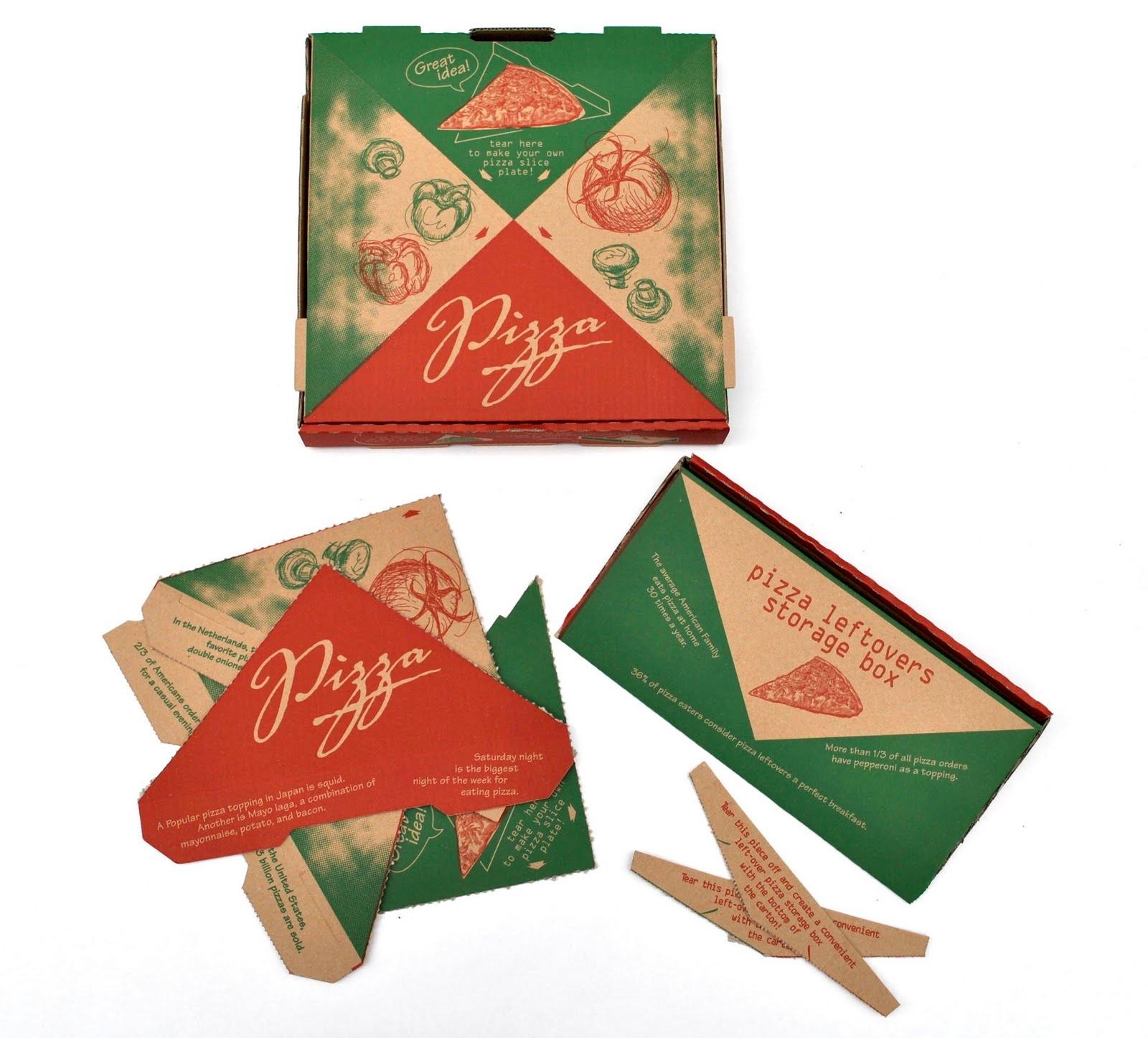 Как сделать коробку под пиццу своими руками