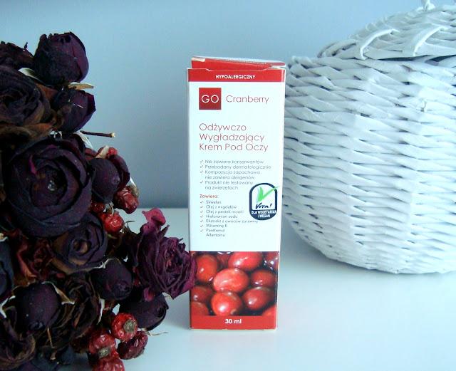 [RECENZJA] Laboratorium NOVA Odżywczo-Wygładzający Krem Pod Oczy GoCranberry - 30ml