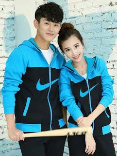 Jaket Couple Nike, Keren murah Dan Free Ongkir, Kode 434