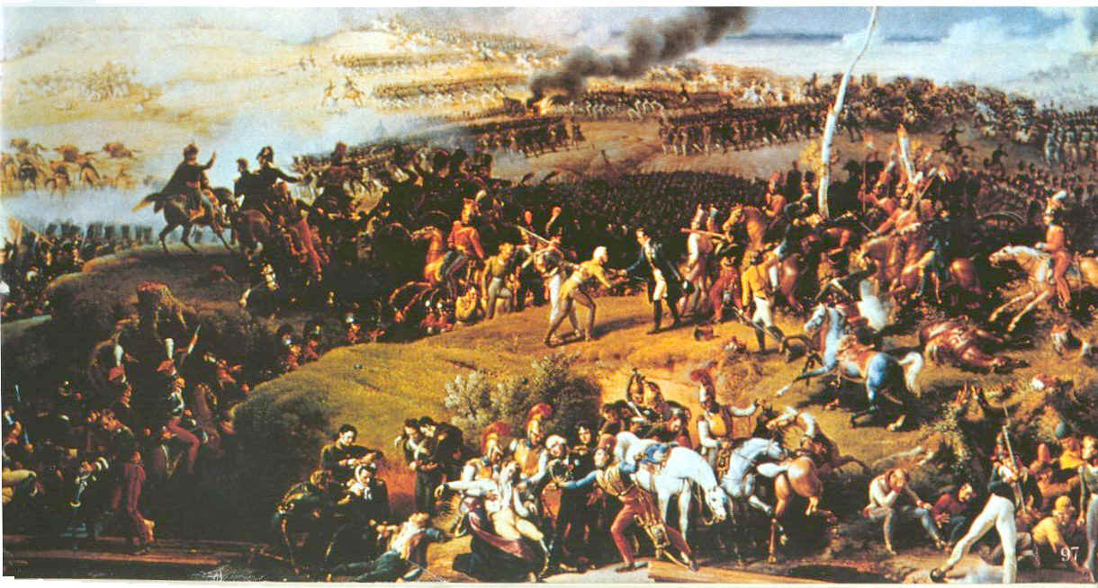 Today in history september 7 the battle of borodino for Piscine ile napoleon