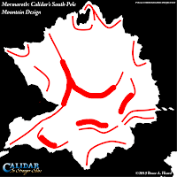 Mormoroth: Calidar's South Pole, Mountain Design