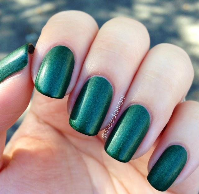 zoya veruschka matte velvet nail polish swatch