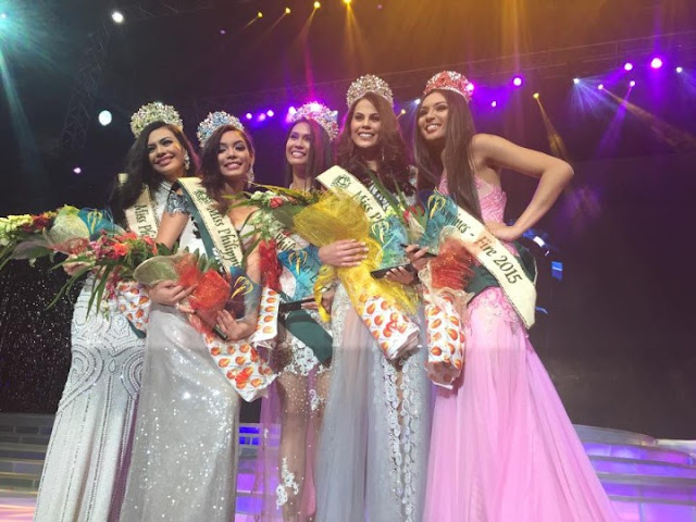 Miss Earth Philippines 2015 winners
