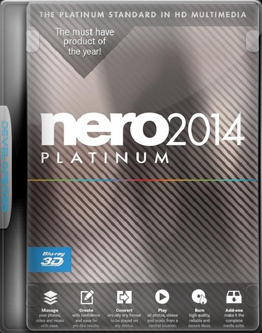 nero 2014 platinum 15 0 03500 final crack key software