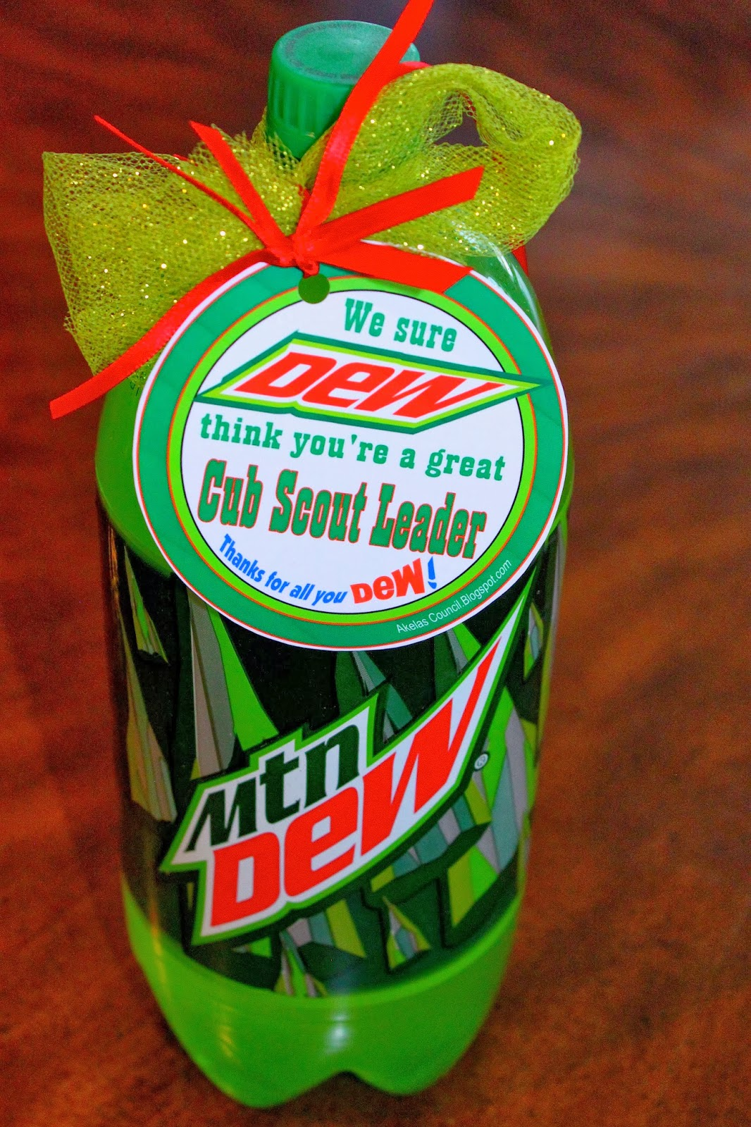 "... DEW think you're Great. Thanks for all you DEW!"" - Perfect for the"