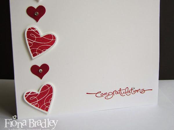 Congratulation hearts