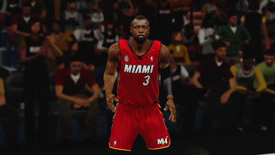 NBA 2K13 Miami Heat Alternate Jersey Patch