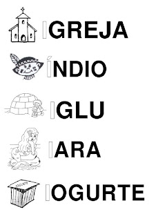 Silabário: i