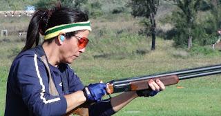 Janice Teixeira - Tiro ao Prato - Tiro Esportivo