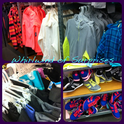 Colorful sweaters, runners and Yoga Pants review