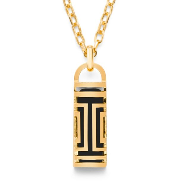 Tory Burch for Fitbit Fret Pendant Necklace