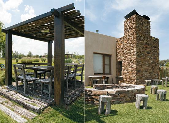 Muebles De Baño Faro: con elementosnaturales, piedra, maderas rusticas, pisos de troncos