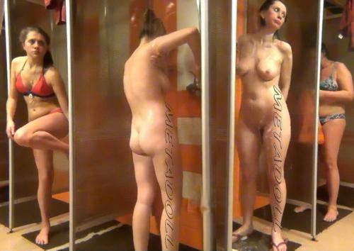 Shower Spy 140-148 (Spy Camera in a Public Shower)