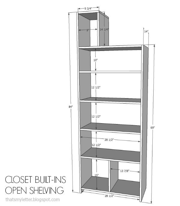 Genial Closet Built Ins Free Plans