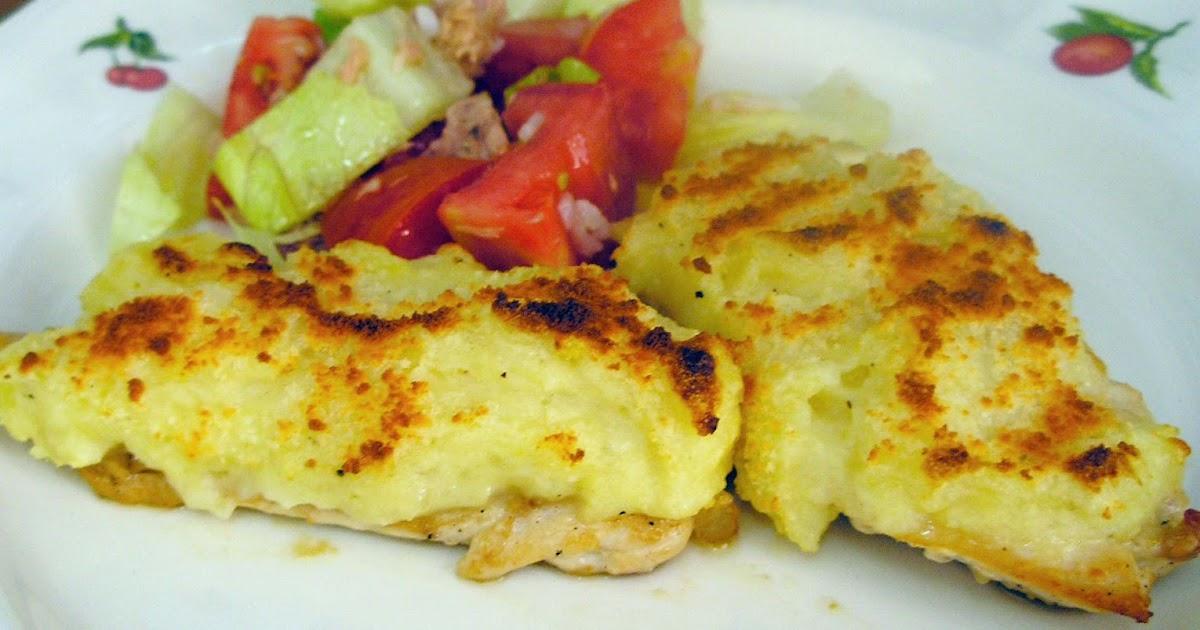 La cocina con cari o receta de pechuga de pollo napada - Pechugas de pollo al horno con patatas ...