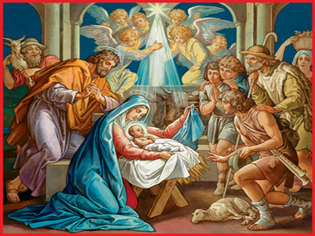Meditaciones del Rosario. Tercer Misterio de Gozo. El Nacimiento del ...