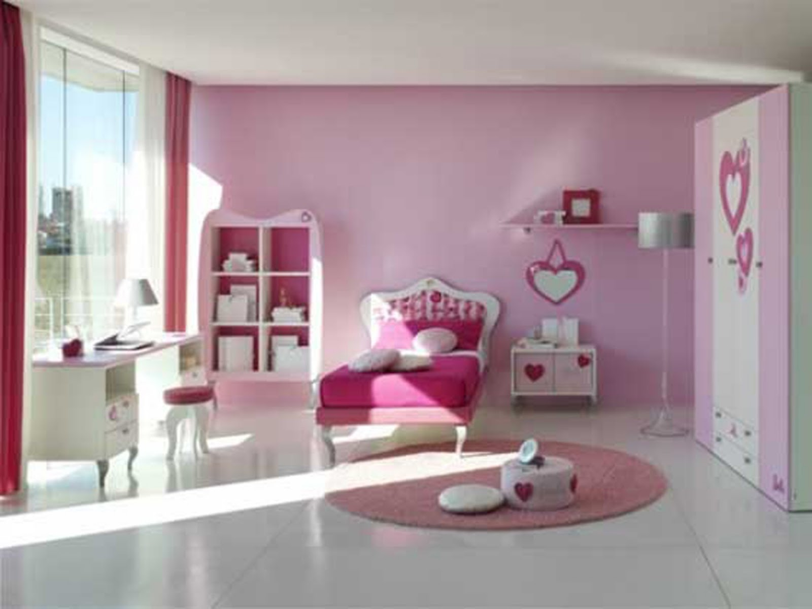 Little Girl Bedrooms Designs