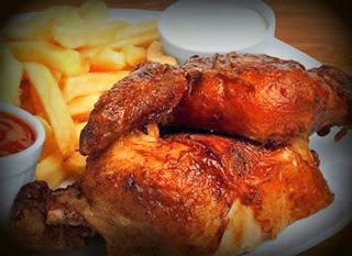 pollo a la brasa casero