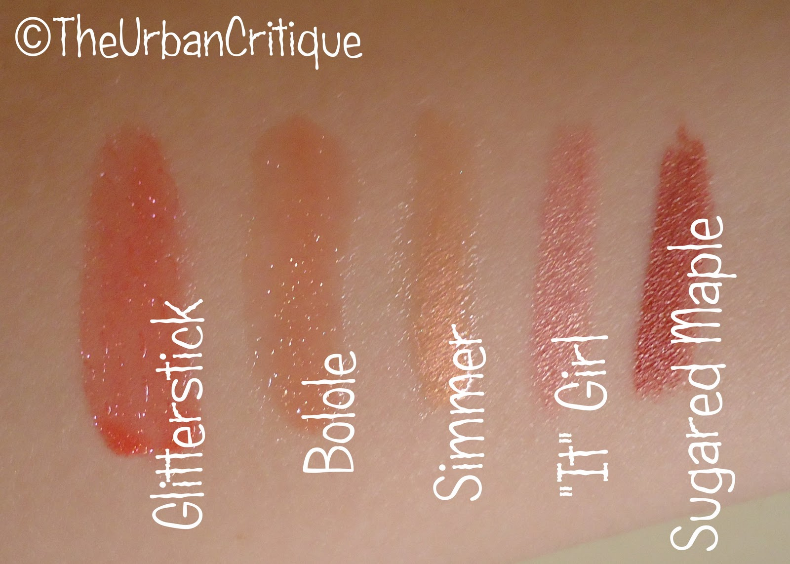 That Lacquer Girl: Lancu00f4me Beauty Box 2011 Swatches
