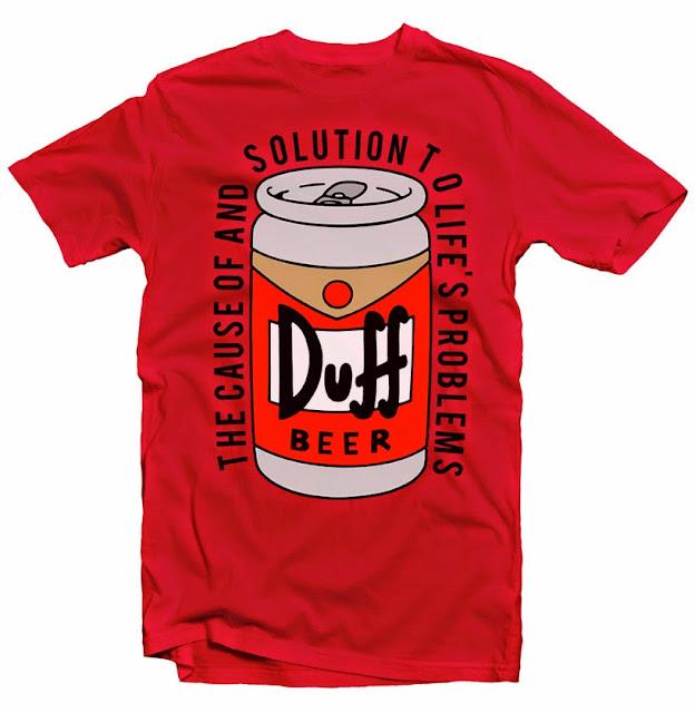 duff tshirt design