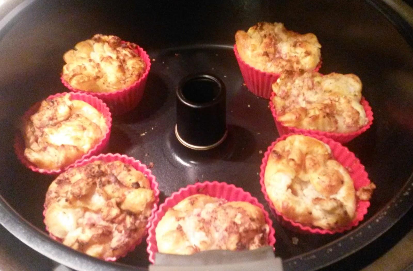 drea s tm und actifry rezepte welt flammkuchen muffins. Black Bedroom Furniture Sets. Home Design Ideas