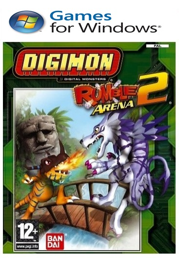 Digimon Rumble Arena PC Full Español Emulado Descargar 2011