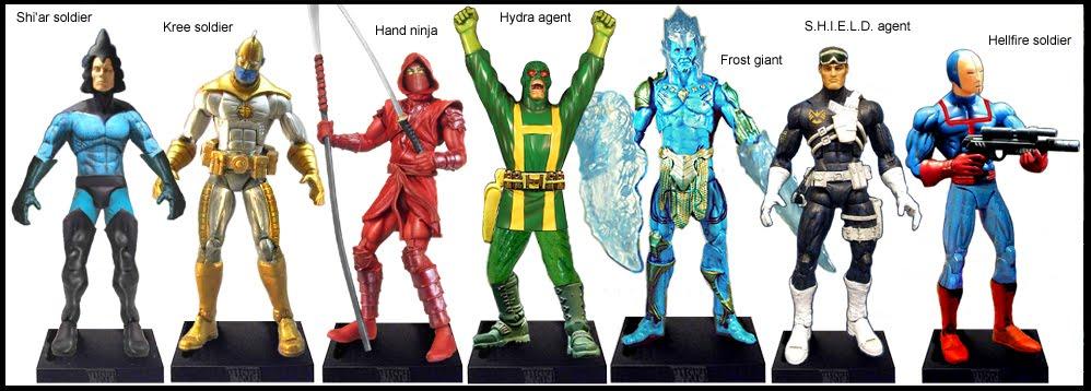<b>Wave 55</b>: Shi&#39;ar, Kree &amp; Hellfire soldiers, Hand ninja, Frost giant, Hydra and Shield agents