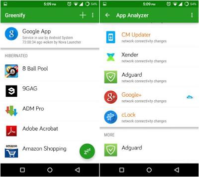 Greenify Pro v2.7.8 APK MOD (UNLOCKED PREMIUM)