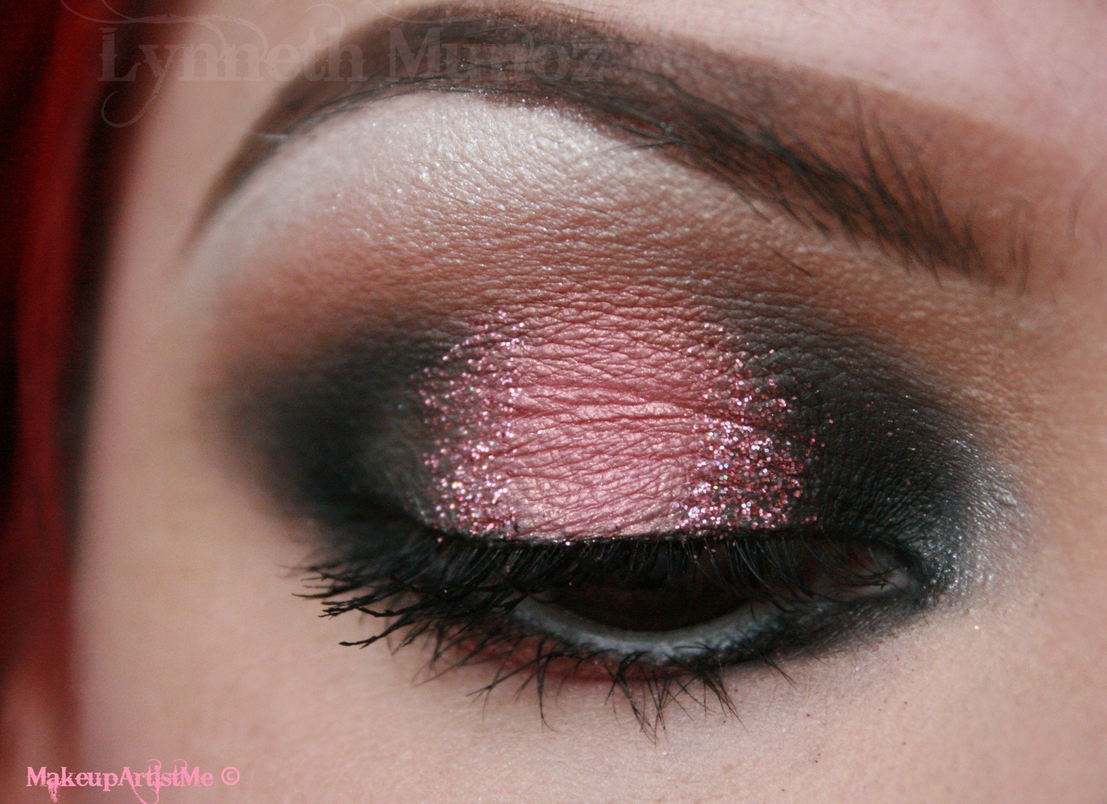 Make up artist me pink love a valentines day makeup tutorial pink love a valentines day makeup tutorial baditri Gallery