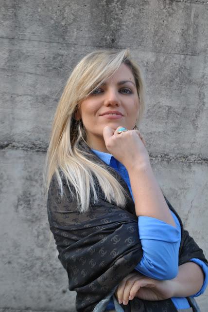 anello majique majique london ring anello sl sciarpa logo chanel sciarpa fattori blonde girl blonde hair blondie outfit casual invernali outfit da giorno invernale outfit gennaio 2016 january  outfit january 2016 outfits casual winter outfit mariafelicia magno fashion blogger colorblock by felym fashion blog italiani fashion blogger italiane blog di moda blogger italiane di moda fashion blogger bergamo fashion blogger milano fashion bloggers italy italian fashion bloggers influencer italiane italian influencer