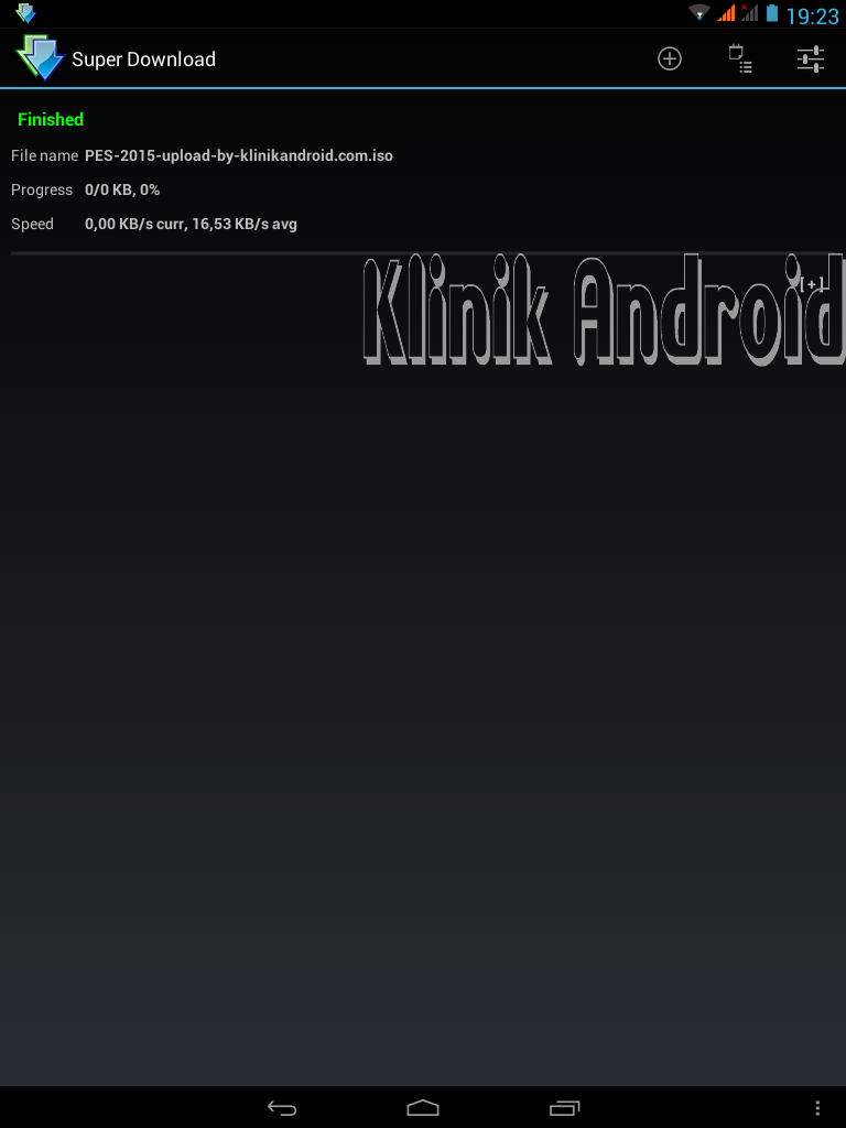 Tutorial Menpercepat Download Lewat Android