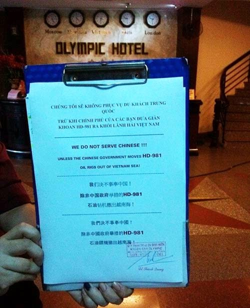 nha trang An Burgeoning Trend of Not Serving Chinese Nationals In Nha Trang Is Despicable