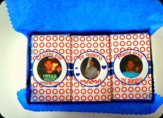Chocolatinas en la caja
