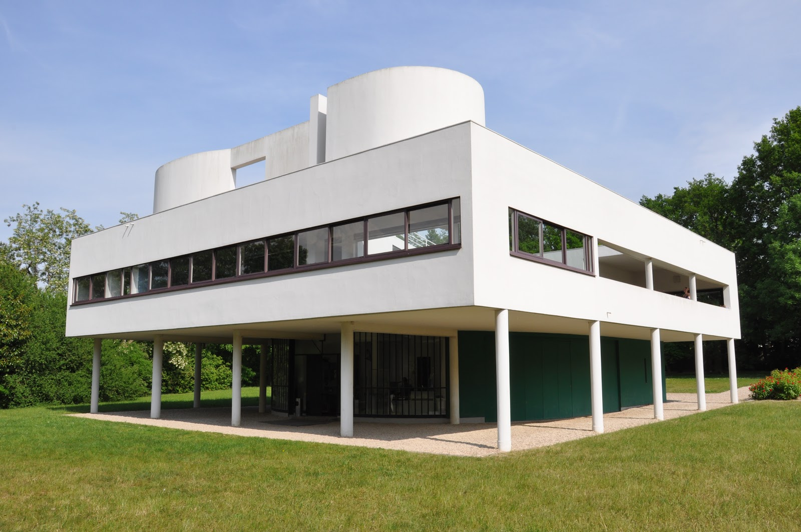 Mid2mod le corbusier for Architecture moderne