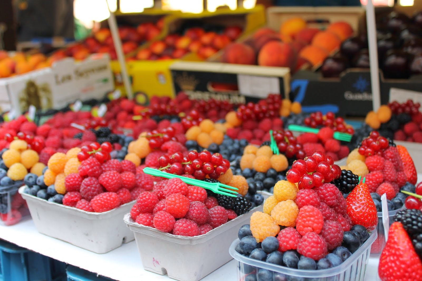 Prague fruit market