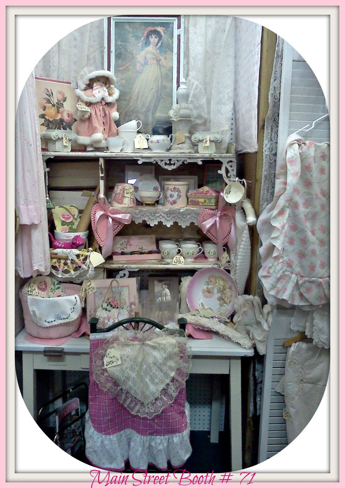 "The Polka Dot Closet: ""What Sells and What Doesn't: Flea Market in"