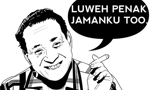 Suharto : Pye? Enak jamanku too