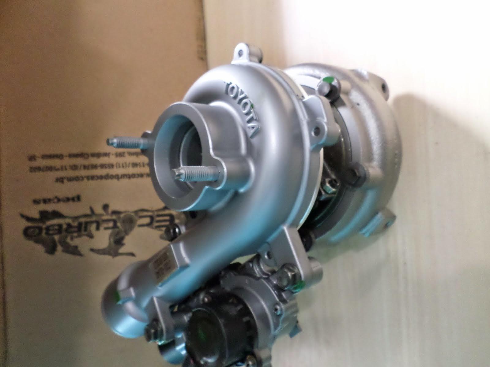 Turbina Toyota Hilux 3.0 motor D4D