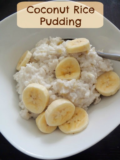 Coconut Rice Pudding: Leftover rice and coconut milk combine to make a ...